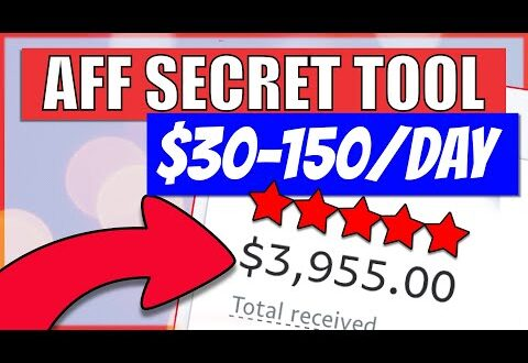 30150 per day with affiliate marketing and this secret